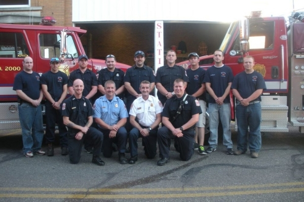 Dennison Ohio Fire Department Members