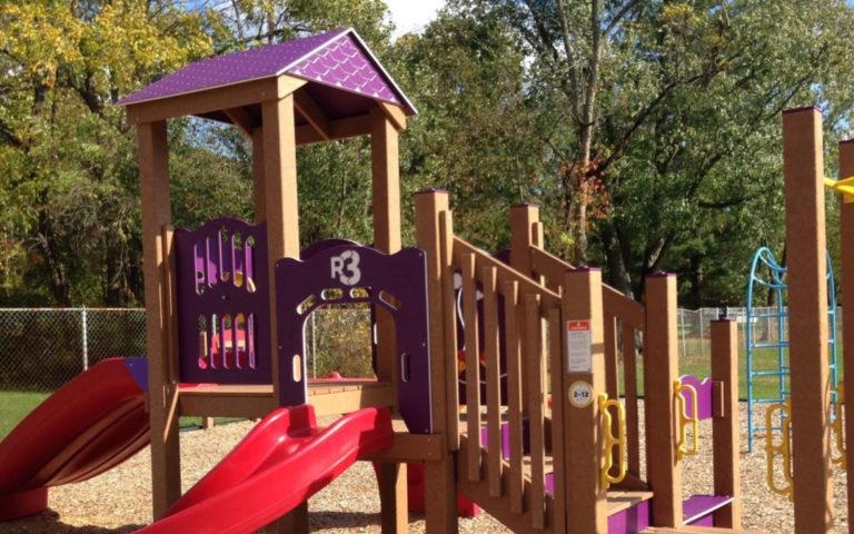 playground at thornwood park in dennison ohio
